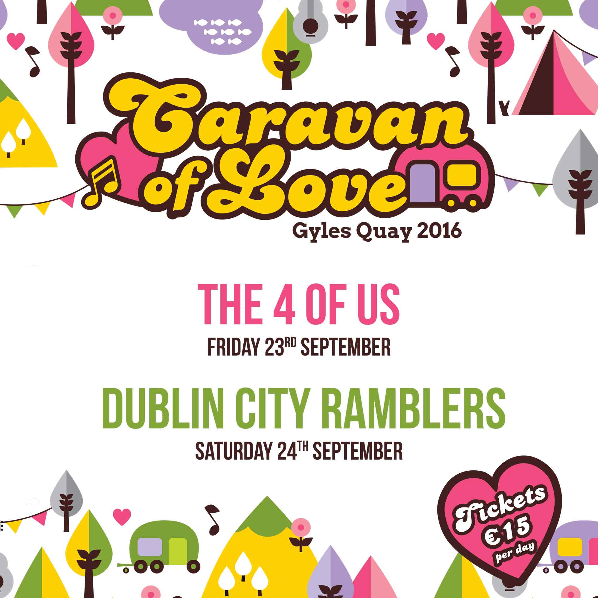 Caravan of Love 2016 - Music Festival - Gyles Quay